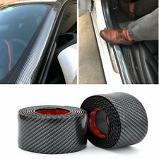 Universal Fit For Toyota Auto Carbon Fiber Rubber Door Sill Protector Stickers
