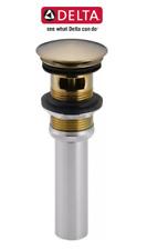 Delta 72173 CZ Push Pop-Up with Overflow - Champagne Bronze