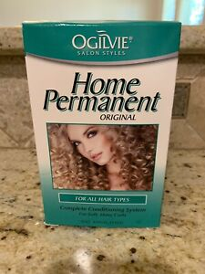 Ogilvie Home Permanent Original Complete Conditioning System For Soft Shiny Curl
