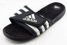 adidas Size 8 M Black Slide Synthetic Men Shoes