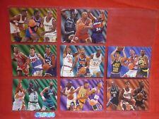FLEER 1994-95 TEAM LEADERS PART SET OF 8 CARDS VGC NBA MASHBURN WILKINS SPREWELL