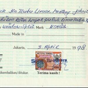 INDONESIA Modern Revenue Tied Bank transfer Value 2000m. 1998