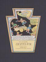 Werbekarte Juwelier - Victorian Trade Card - N.Y Jeweler Jewelry Taschenuhren