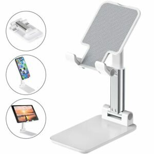 Adjustable Cell Phone Tablet Stand Desktop Holder Mount Mobile For iPhone Xiaomi