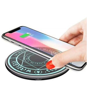 10W Qi Mini Magic Array Wireless Charger Fast Charging Mat for iPhone Samsung