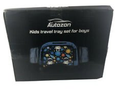 Autozon Kids Travel Tray Set For Boys Auto Activity Organizer NIB-