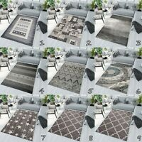 NEW SMALL X LARGE RUG SOFT PILE BEAUTIFUL MODERN DESIGN LIVING ROOM AREA RUGS