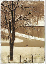 Christmas Holiday Cards G-Gallery I love the winter weather...Season's Greetings