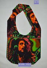 NEW Sling Shoulder Bag Bob Marley Rasta Reggae Hippie Beach