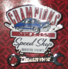 Disney MOC Radiator Springs Carsland Champions Custom Speed Stop LE Pin