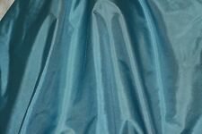 "Sea Blue Tissue Taffeta Silk, 100% Silk Fabric, 44"" Wide, By The Yard (TS-7324)"