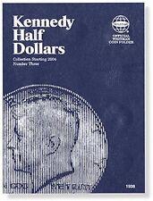 WHITMAN Kennedy Halves 2004-Date Number 3 Three Folder Album #1938