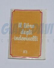 BARILLA MULINO BIANCO SORPRESINE 1983 IL LIBRO DEGLI INDOVINELLI
