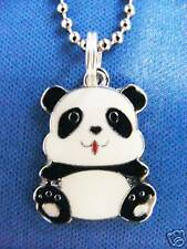 Panda bear Charm pendant Chained Necklace