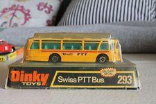 DINKY TOYS  * SWISS PTT BUS * ORIGINAL VON 1978 * RARITÄT