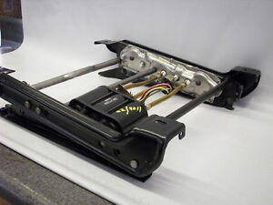 "88-96 CORVETTE POWER 6-WAY SEAT TRACKS REBUILT LEFT OR RIGHT ""1 YEAR WARRANTY"""