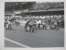 Poster Start GP Belgium Spa Francorchamps 1964 500cc