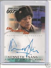 """James Bond """"Die Another Day""""  A8 Kenneth Tsang auto card"""