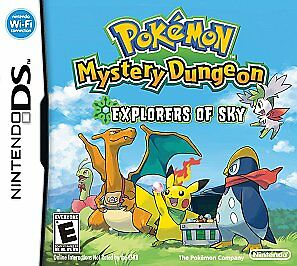 Pokemon Mystery Dungeon - Explorers of Sky cartridge only READ DESCRIPTION
