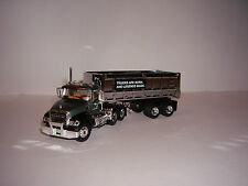FIRST GEAR 1/64 GRAY MACK GRANITE WITH CHROME 22' END DUMP DCP