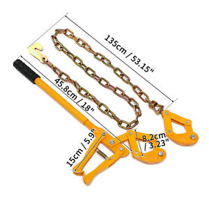 """53"""" Chain Strainer Tool Barn Farm Fence Stretcher Tensioner Repair Barbed Wire"""