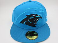 Carolina Panthers Blue New Era NFL 2016 Sideline 59FIFTY Fitted Hat Cap