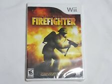 NEW (Read) Real Heroes Firefighter Nintendo Wii Game SEALED fire fighter US NTSC
