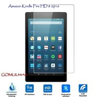 Tempered Glass Screen Protector for Amazon Kindle Fire HD 8 Inch 2016 (6th gen.)