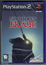 PS2 Shogun's Blade (2005), UK Pal, Brand New & Sony Factory Sealed