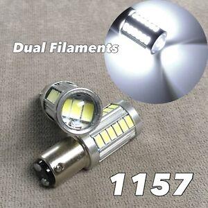 Brake Stop Tail Light 1157 33 SMD P21/5W BAY15D 6500K LED bulb For Volvo