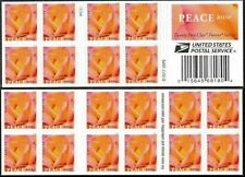 2018 US STAMP - PEACE ROSE- FOREVER BOOKLET OF 20 - SC# 5280
