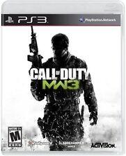 Call of Duty: Modern Warfare 3 (Sony PlayStation 3, 2011) NEW @@LOOK@@ PS3