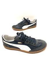 Puma Super Liga Mens Blue/white Leather/suede Athletic Shoes Size 11