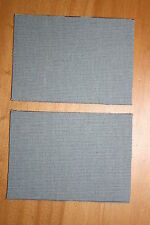 WW2 WWII CANADIAN 3RD INFANTRY DIVISION CANADA FRENCH GREY CLOTH SIGNS SIGN PAIR