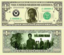 WALKING DEAD BILLET MILLION DOLLAR US Série Zombie Mort Vivant bd Horreur the 6