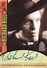Wild Wild West Season 1 Richard Kiel as Voltaire A5 Auto Card