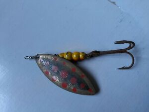 Vintage rare  Mepps Aglia Size 4 large 10cm  Trout Spinner