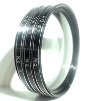Vivitar Close Up Lens Filters Coated 49mm Set of 3 / No. 1 2 3 / For Canon Nikon
