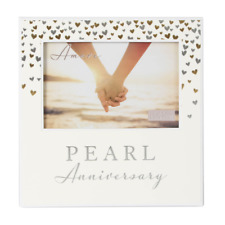 30th Pearl Wedding Anniversary Gift Photo Frame WG92930