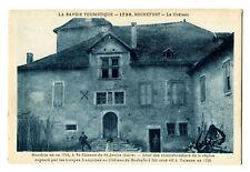 CPA 73 Savoie Rochefort Le Château de Mandrin animé