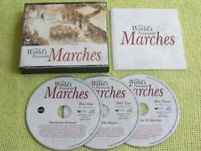 Readers Digest The World's Favourite Marches 3 CD Album Brass & Militay