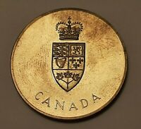 1967 Canada (100 Years Confederation 1867-1967) Brass Medal