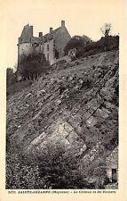 B56039 Sainte Suzanne Le Chateau et les Rochers  france