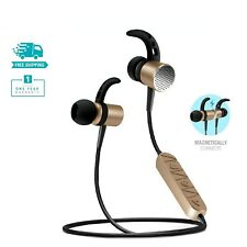 Overtime Wireless Headset In-Ear Sports Earbuds with MIC Super Bass HiFi Stereo
