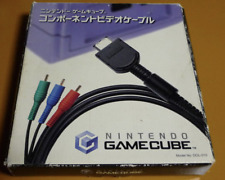 Nintendo GameCube Component Cable video cable Komponenten Cabel From Japan Exc+