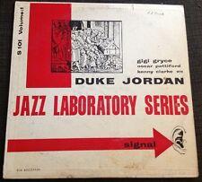 1955 RARE JAZZ Duke Jordan Jazz Laboratory Series S101 Volume 1 Oscar Pettiford