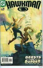 Hawkman 2002 series # 4 near mint comic book
