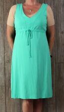 Fresh Produce Dress M L size Green Vneck Tank Womens Rayon USA Beach Comfort