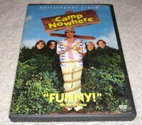 Camp Nowhere (DVD, 2003) *RARE opp