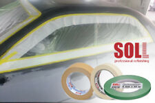 SOLL High Huality automotive masking tapes for car painting refinishing 2 units.
